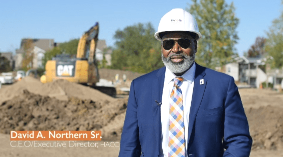 David Northern Sr. at Groundbreaking